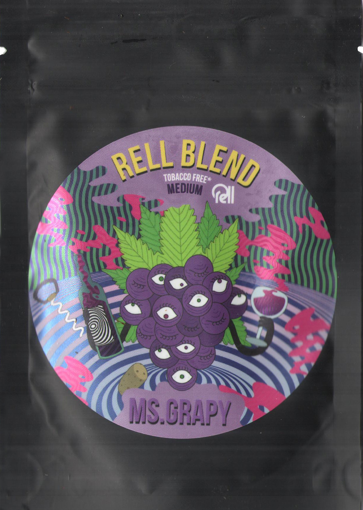 Табак Rell Blend- Виноград (Mr. Grape) фото