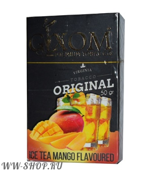 табак gixom- ледяной чай с манго (ice tea mango) Москва