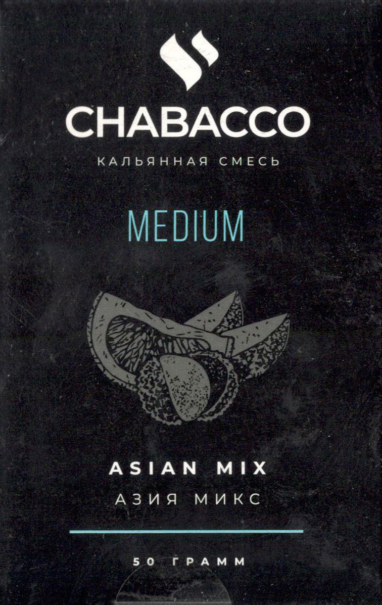 Табак Chabacco Medium- Азия Микс (Asian Mix) фото