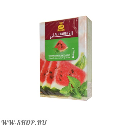 табак al fakher- watermelon mint (арбуз - мята)