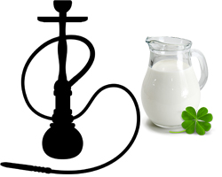 кальян на молоке